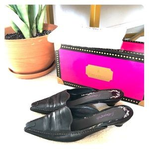 CHARITY LISTING-Cole haan point toe mules